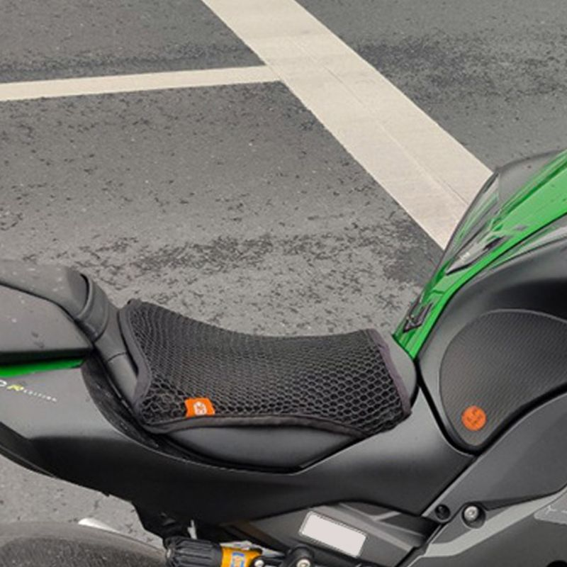 summer-motorcycle-breathable-cool-sunproof-seat-cushion-cover-heat-insulation-mounting-air-pad-motorbike-seat-protection
