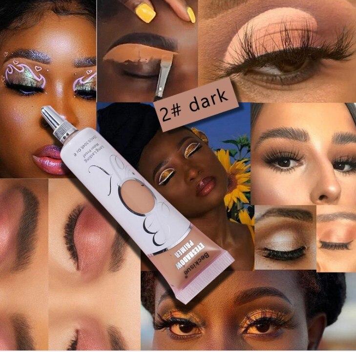 Imprimación de sombra de ojos, corrector, imprimación de color, maquillaje de 24...