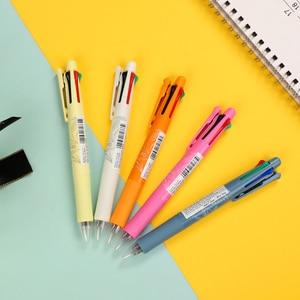 Japan Zebra Four-Color Ball Pen 0.7mm Limited Multi-Energy Pen mechanical pencil Tropical Plants for Stationery School Supplies