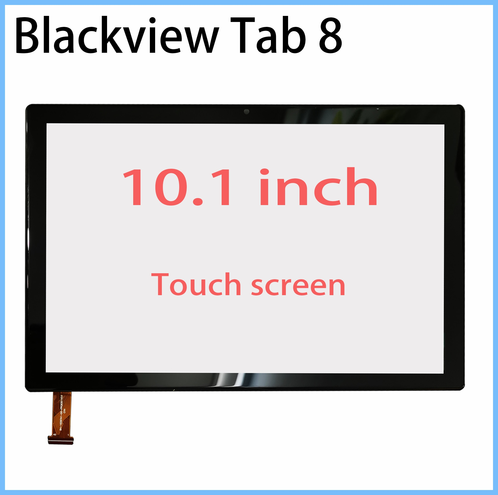 New LCD Display Touch screen For Blackview Tab 8 / 8E 10.1 inch Tablet touch screen touch panel digitizer glass repair replace