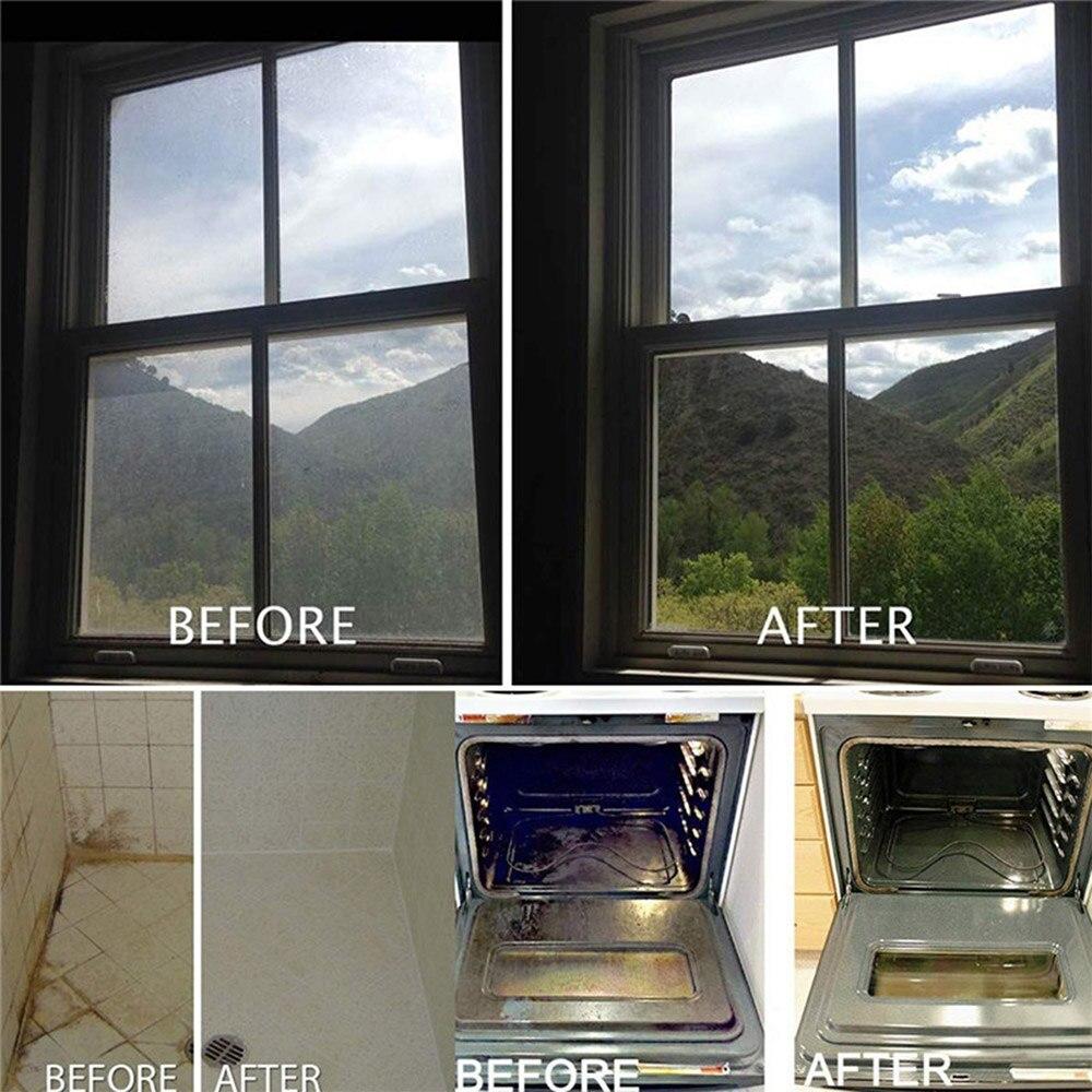 Купить с кэшбэком 4X Car Windshield Solid Soap Paint Protective Foil Clean Window Glass Washing Cleaning Effervescent WaxTooth Brush Polishing