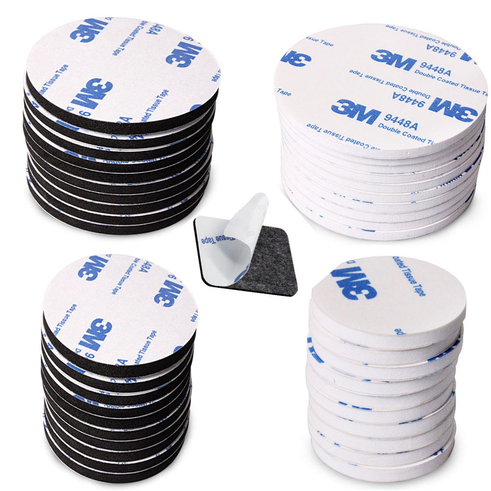 10-100pcs 3M Strong Pad Mounting Tape Double Sided Adhesive Acrylic Foam Tape Two Sides Mounting Sti