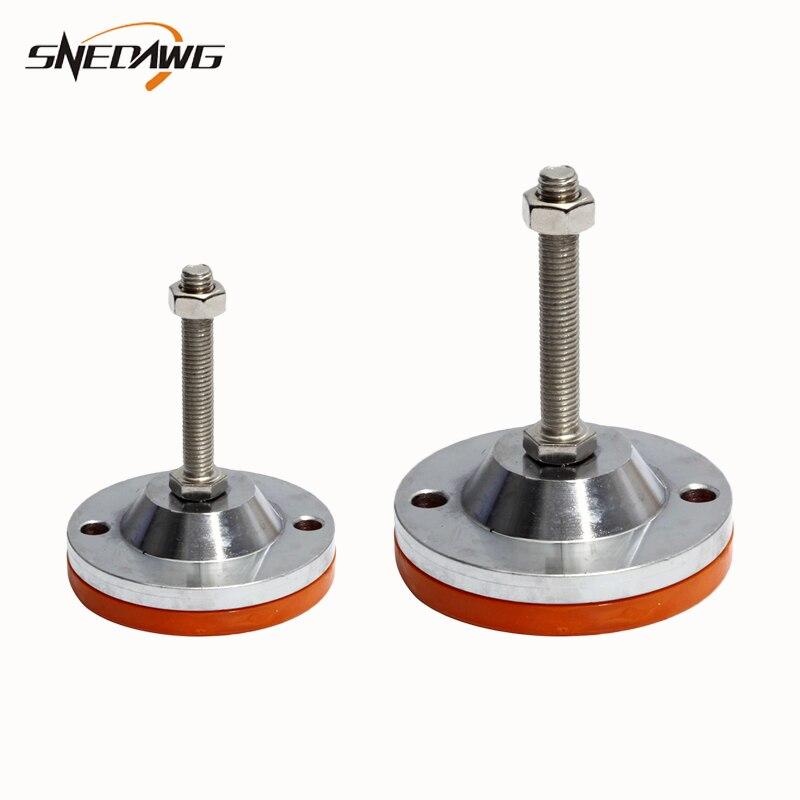 دعامة أثاث من الفولاذ المقاوم للصدأ 304 ، عالية الجودة ، غير قابلة للانزلاق ، قابلة للتعديل ، لأرجل الطاولة