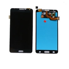 % 100% test edilmiş AMOLED Samsung Galaxy Note3 Neo Mini Lite N7505 LCD dokunmatik ekran Digitizer meclisi çerçeve değiştirme