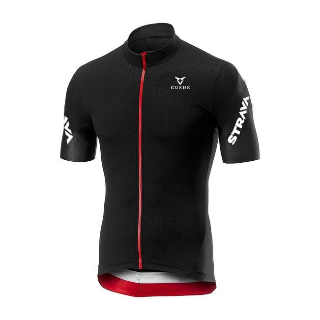 Gusthe STRAVA-abrigo de manga corta para ciclismo y traje de Ciclismo de...