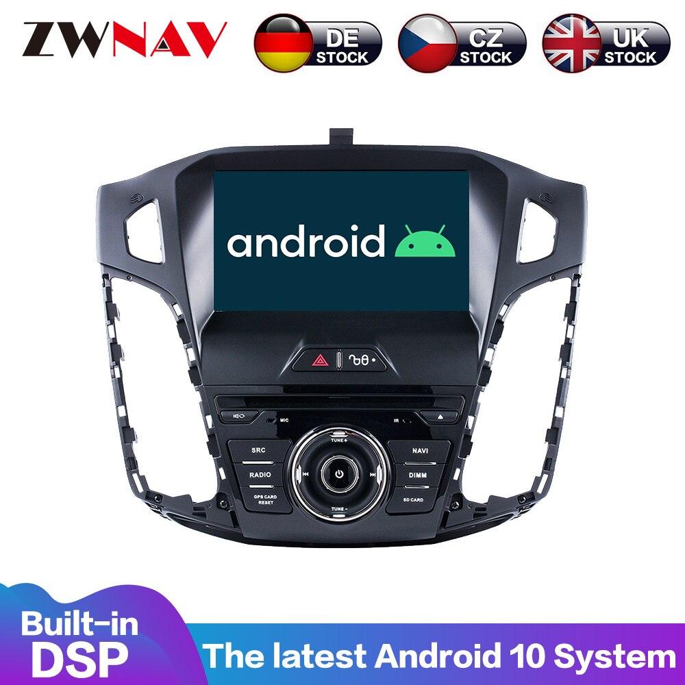 Reproductor multimedia con pantalla IPS y navegación GPS para Ford, Radio con...