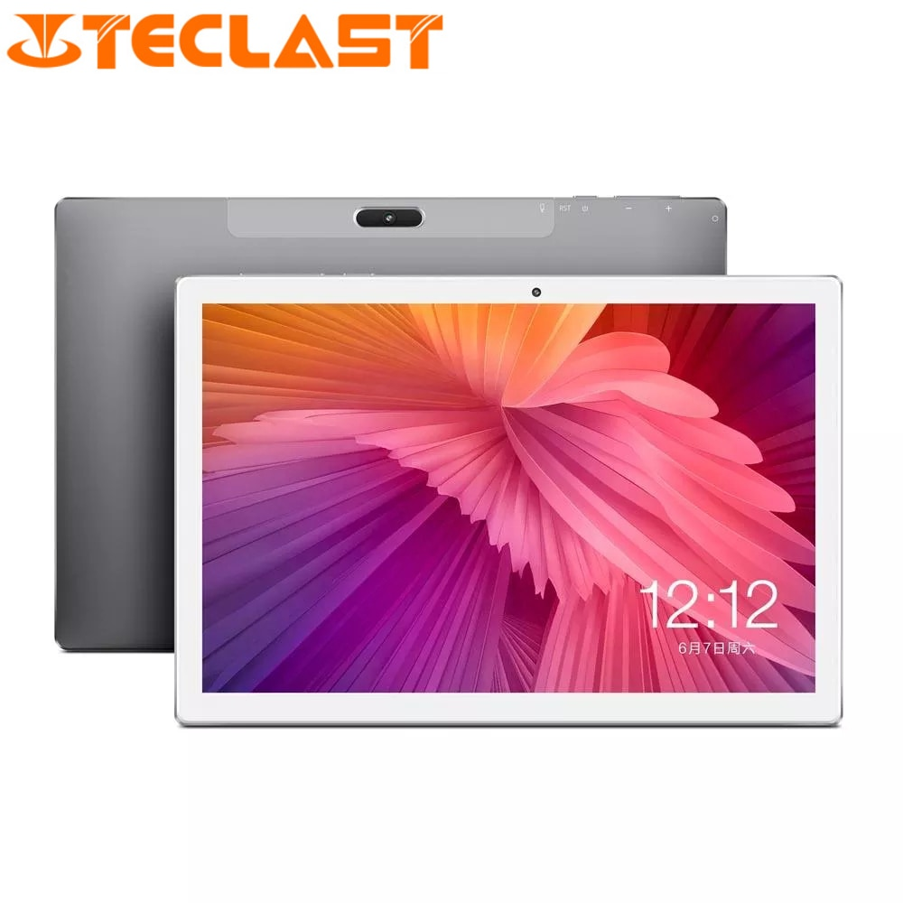 Tableta PC Teclast M30 4G, 10,1 pulgadas, pantalla IPS 2560*1600, MT6797X X27 Deca Core, 4G RAM, 128G ROM, sistema operativo Android 8,0