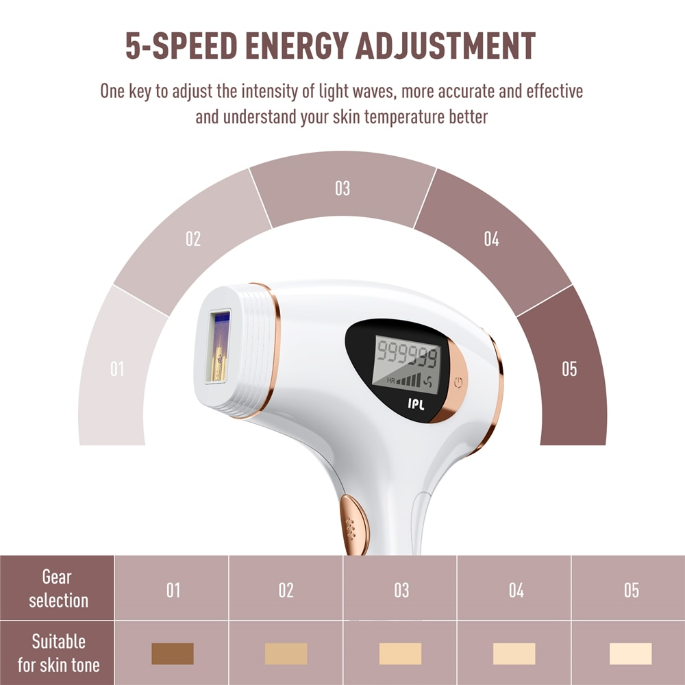 3 in1 Depilador a Laser IPL Hair Removal Epilator Machine for Women Depilator Laserowy Bikini Depiladora Facial Home Use Devices enlarge