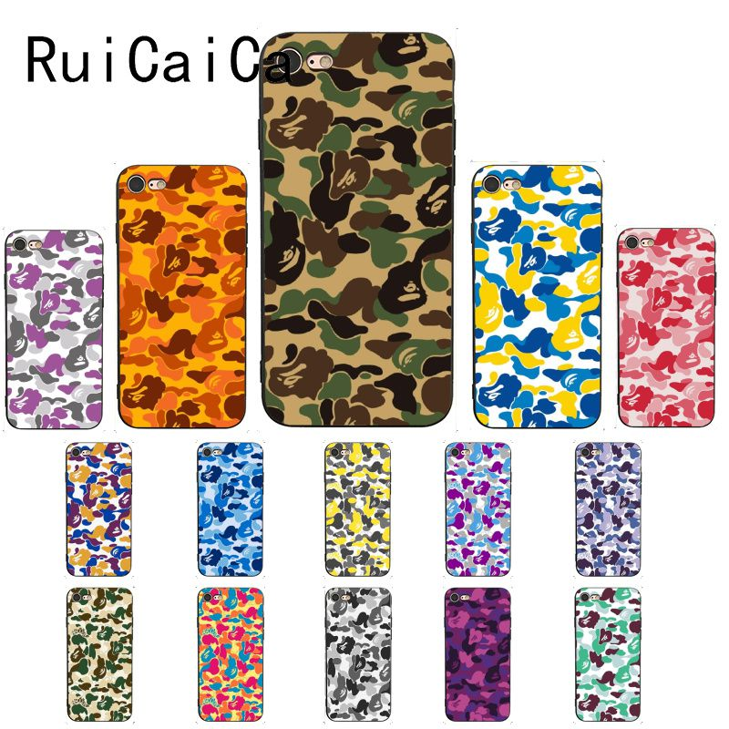 Ruicaica, funda de teléfono para iPhone 8, 7, 6, 6S, 5, 5S, SE, XR, X, XS, 11 Pro, MAX
