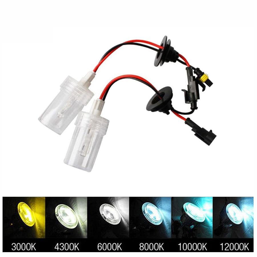 2pcs 12V 100W Xenon H7 HID Conversion Kit H1 H3 H11 9005 Bulb Auto Car Headlight Lamp 3000k 4300k 5000K 6000k 8000K 12000K