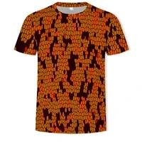 2020 summer 3d print funny mens o neck t shirts fashion mens tops men t shirt cool men tshirt male men tee shirts big size 6x