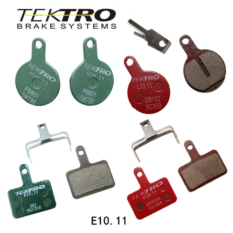 TEKTRO-Pastillas de freno de disco de bicicleta de montaña, E10.11, Iox.11, L10.11,...