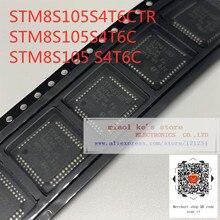 [5 pièces] 100% Nouveau original STM8S105S4T6CTR STM8S105S4T6C STM8S105 S4T6C - IC MCU 8BIT 16KB FLASH 44LQFP