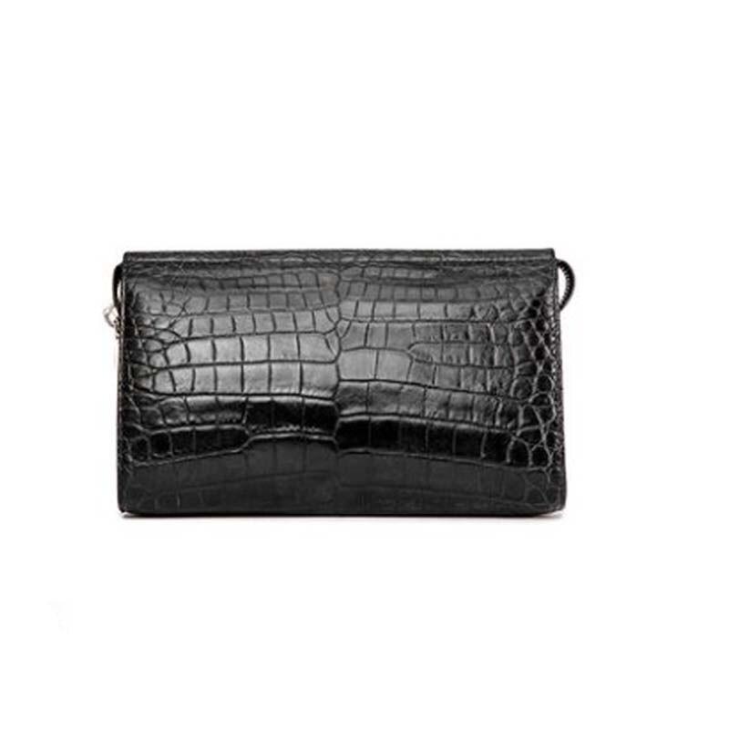 afanzhe men  Combination lock men bag  Thailand  import  crocodile  Hand bag  Men clutch bags  large capacity  Zipper men wallet
