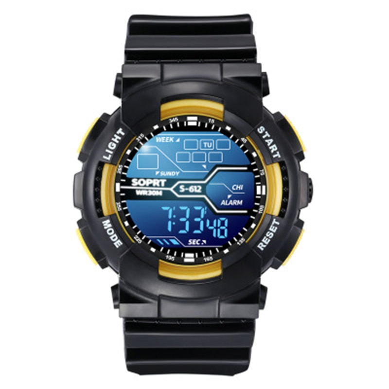 Waterproof 30M  LED Watch Boys Girls Digital Sport Watches Digital Wristwatch For Kids