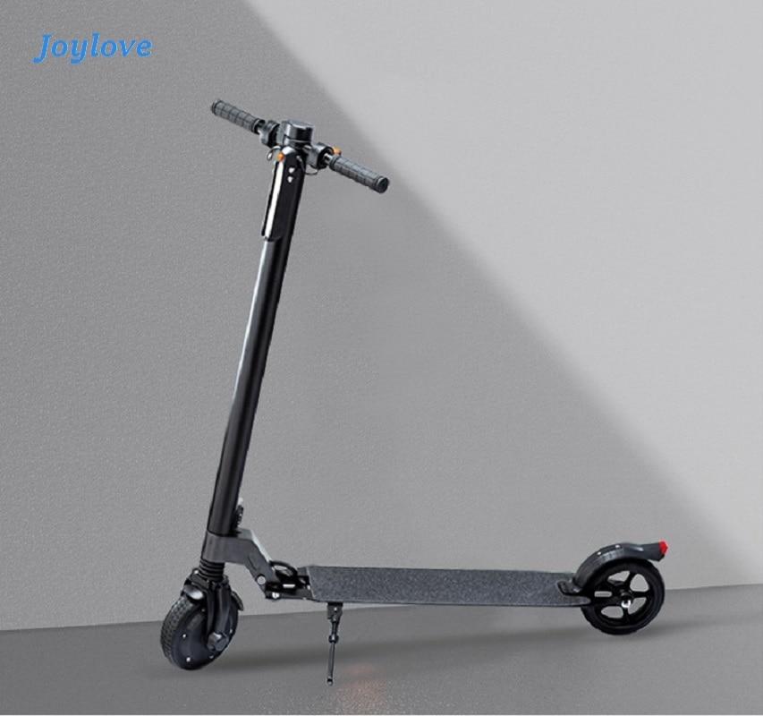 JOYLOVE للطي سكوتر كهربائي في عصر خطوة قطعة أثرية إطارات دراجة تسلق الجبال خفيفة الوزن للعمل سيارة صغيرة السيدات المحمولة الكبار خفيفة الوزن