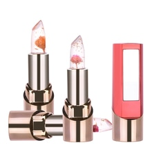 New Flower Jelly Lipstick Temperature Changed Long-Lasting Lip Balm Moisturizer Lips Makeup Products