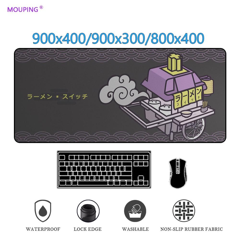 Механическая клавиатура, коврик для мыши, переключатель клавиатуры с прошитыми краями, резиновые Высококачественные мягкие игровые аксесс...