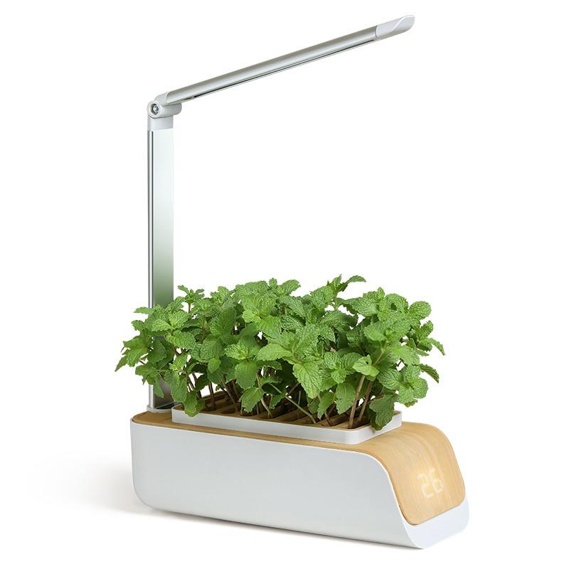 Smart Home Growth Light Garden Flower Pot Indoor Soilless Cultivation of Vegetables Hydroponic Grow Kit Garden Seedlings Planter