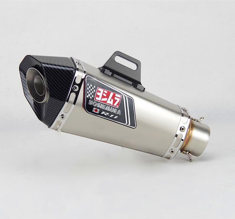 Universal51mm de la motocicleta con Db asesino yoshimura silenciador de escape para SV650 R6 R15 R3 ZX6R ZX10 Z900 CBR1000 GSXR1000 K7 MT07