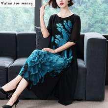 Chiffon Vintage Maxi Jurk Vrouwen Kleding 2020 Zomer Elegante Feestjurk Vrouwen Jurken Plus Size Vestido HAL196030 Y2510