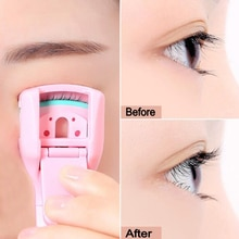 1pcs Mini Eyelash Curler Clip Plastic Portable Lash Curling Applicator Women Eyes Makeup Extension T