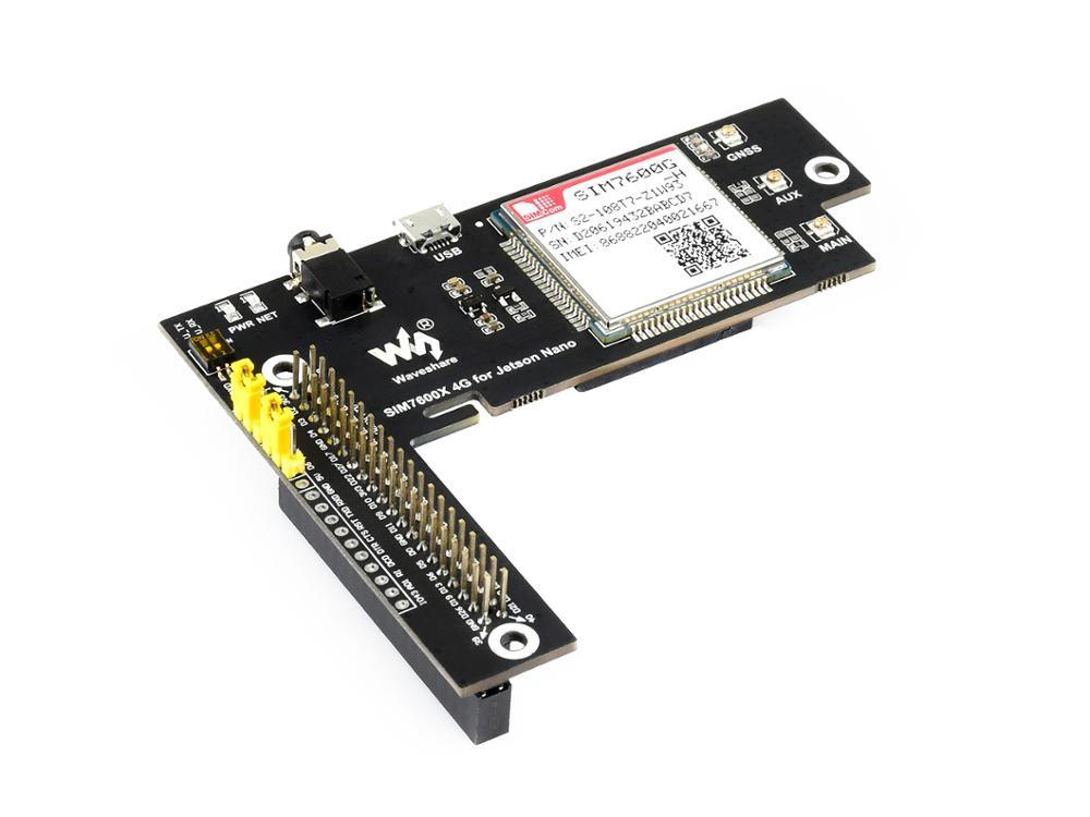 SIM7600G-H 4 グラム帽子グローバルバージョン 4 グラム/3 グラム/2 グラム/gsm/gprs/gnss 帽子ラズベリーパイかわいい低消費電力