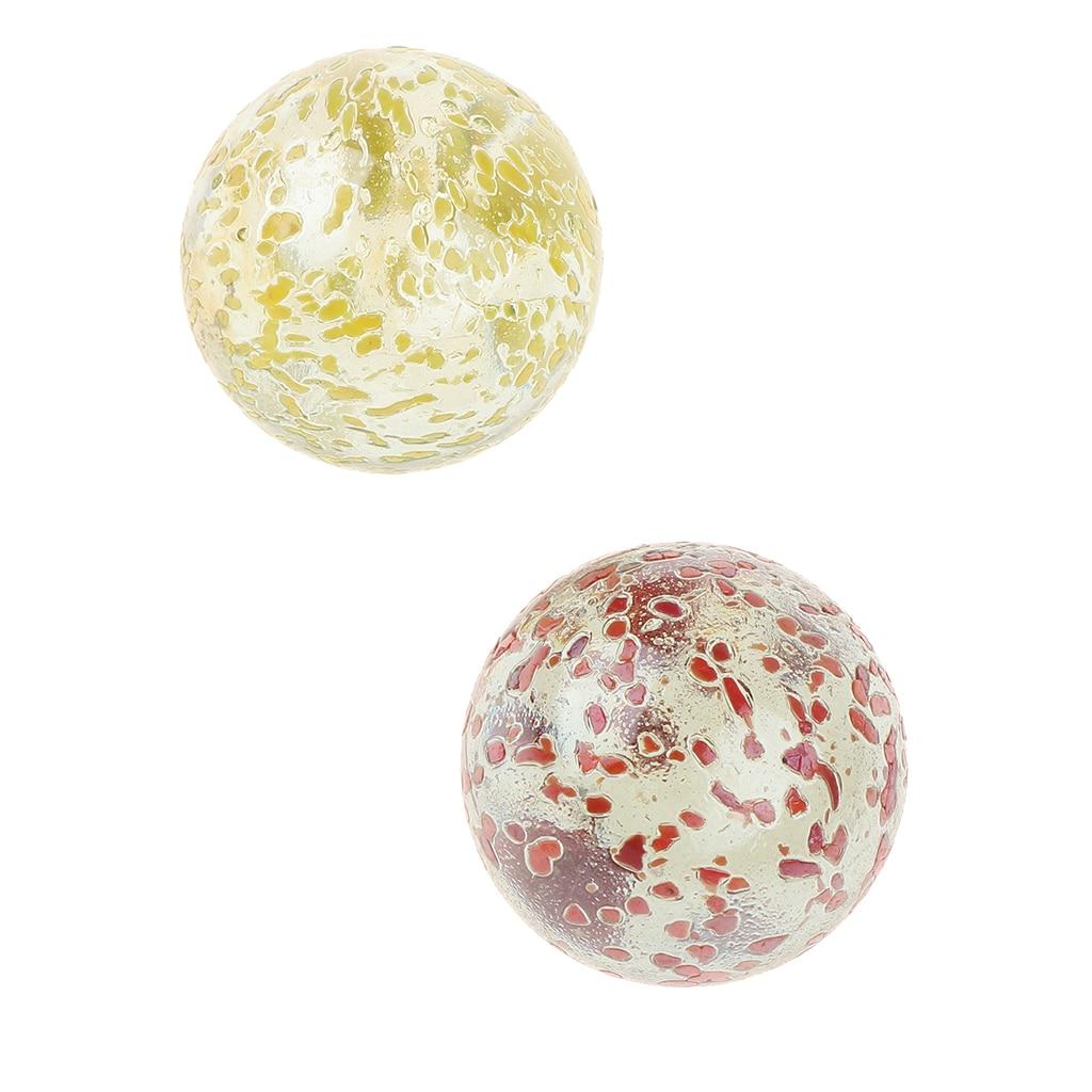 2 pièces 35mm verre marbre perles pour enfants marbre jeu jouet, Vase, Aquarium, décoration daquarium