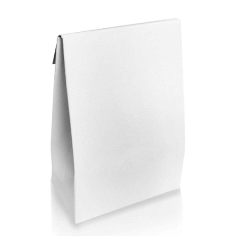 1 Uds. Pequeño Mini bolsa de papel de regalo para cuentas encanto pulsera collar anillo pendiente Compatible con Pandora joyería de plata