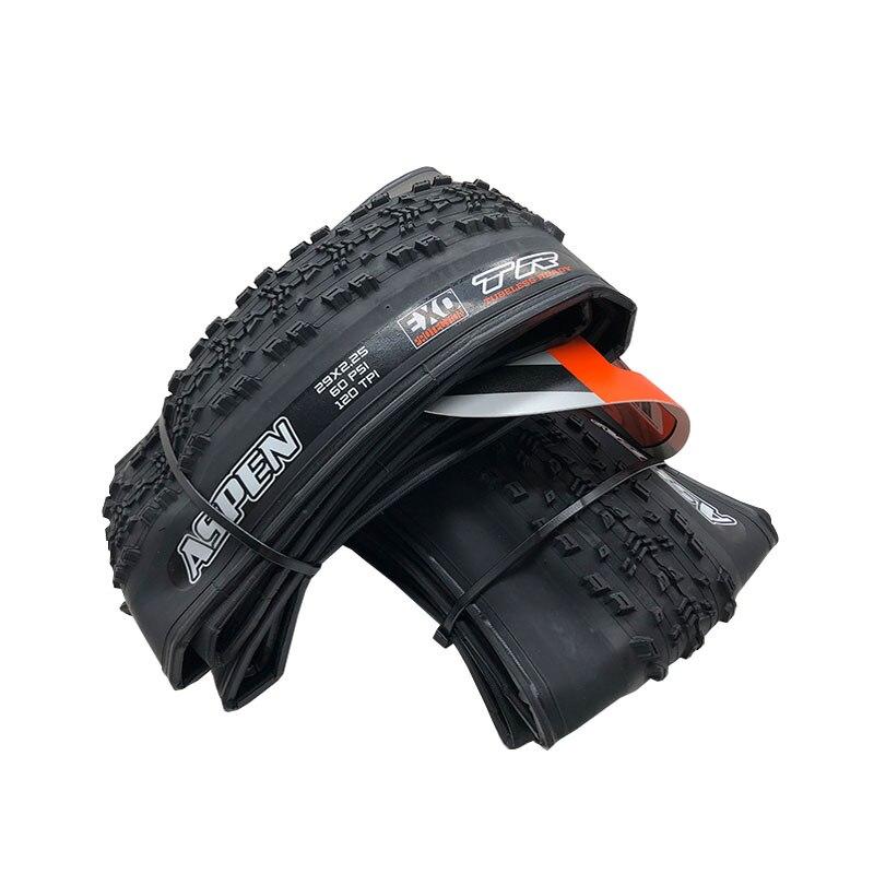 MAXXIS ASPEN لايحتاج للطي إطارات الجبلية 29X2.25 120 TPI EXO TR 29 بوصة دراجة جبلية عبر البلاد XC إطارات الفاصلة