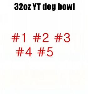 32oz YT dog bowl Top Finds