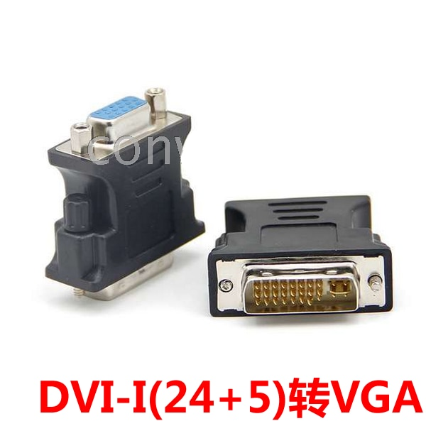 DVI a VGA Dvi24 Pin Vga15 Hole, convertidor de DVI a VGA,...