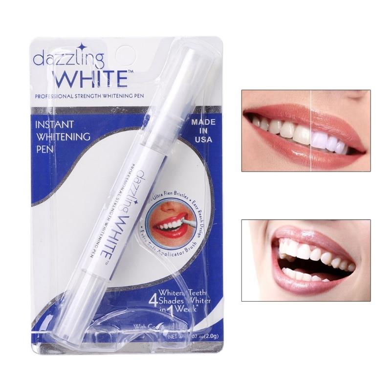 Peroxide Gel Tooth Cleaning Bleaching Kit  White Teeth Whitening Pen