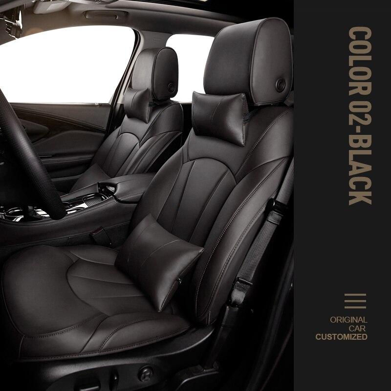أغطية مقاعد السيارة mitsubishi eclipse cross outlander 3 pajero sport lancer x outlander xl colt carisma space star accessories