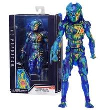 En Stock 18cm NECA prédateur Figure Vision thermique fugitif prédateur Action Figure à collectionner modèle jouet poupée cadeau 7 pouces
