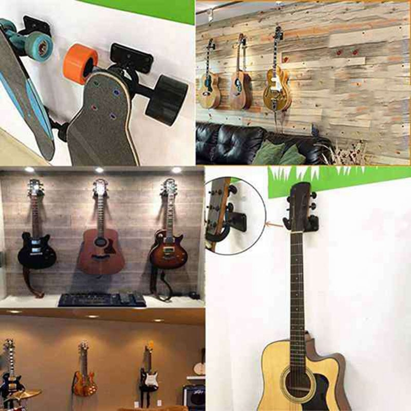 Guitar Hanger Wall Mount,Guitar Capo,Guitar Pick for Acoustic Guitar Electric Guitar Bass Ukulele,Banjo,Folk Guitar,Etc enlarge