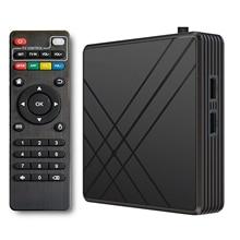 For Android 10.0 TV Box 4GB RAM 32GB ROM Smart TV Set Top Box Amlogic S905 Mx+s QPro 4K Home Audio V