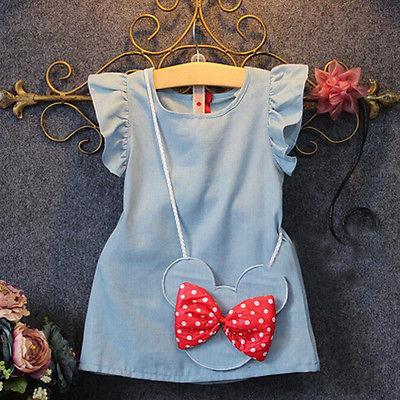 Girl Dress 2018 New Baby Dresses Pattern Print Lemon Cartoon Birthday Dress Baby Summer Clothes Kids Girl Clothes