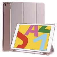 Чехол для iPad 10, 2, чехол, футляр для карандашей, умный чехол для планшета iPad 10,2, 7, 8, 9, чехол 9-го поколения 2021, 2020, 9,7, Air 4, 3, 2, Pro 11