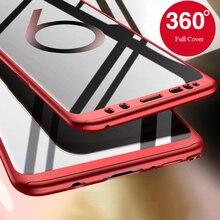 360 coque de protection complète pour Samsung Galaxy J3 J5 2016 J7 Pro 2017 J310 S8 S9 S10 S20 Plus S6 S7 edge Case avec verre trempé