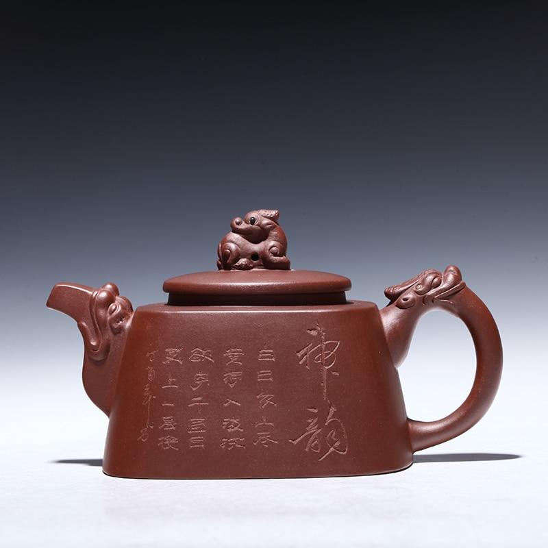 خامات yixing الأصلية موصى بها من قبل إبريق الشاي والهدايا المنزلية اليدوية النقية sifang verve