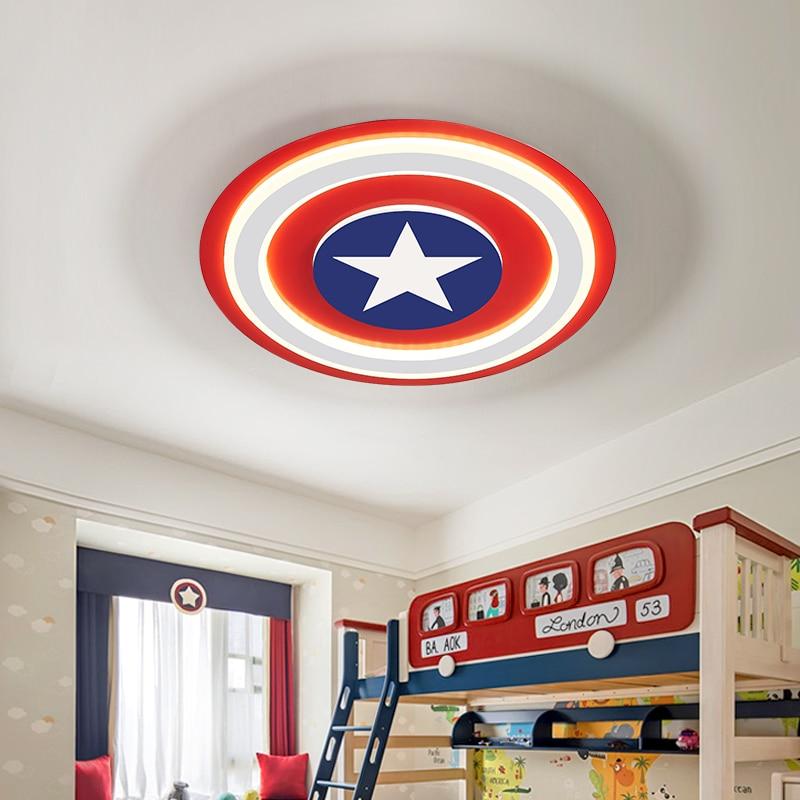 Luces de techo LED para niños, lámpara de acrílico con control remoto...
