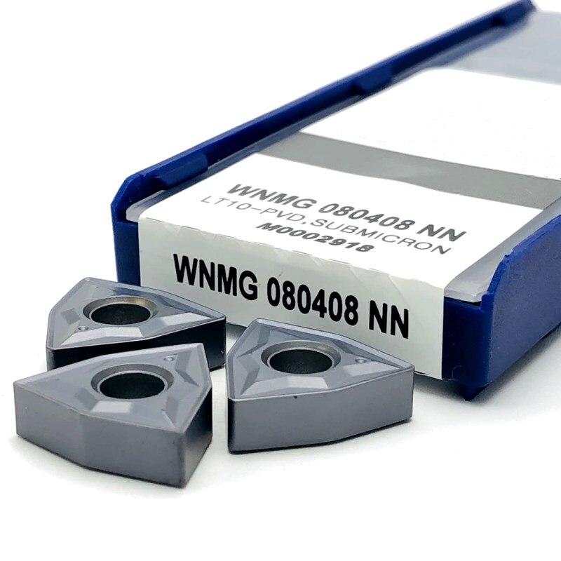 WNMG080408 NN LT10 карбидные вставки для внешней токарной обработки инструменты токарные инструменты режущие инструменты токарные инструменты WNMG ...