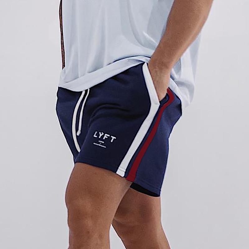 2021 мужские повседневные шорты, мужские шорты в полоску, спортивные шорты для бега, фитнеса, бодибилдинга, тренировок, мужские шорты для бега ...