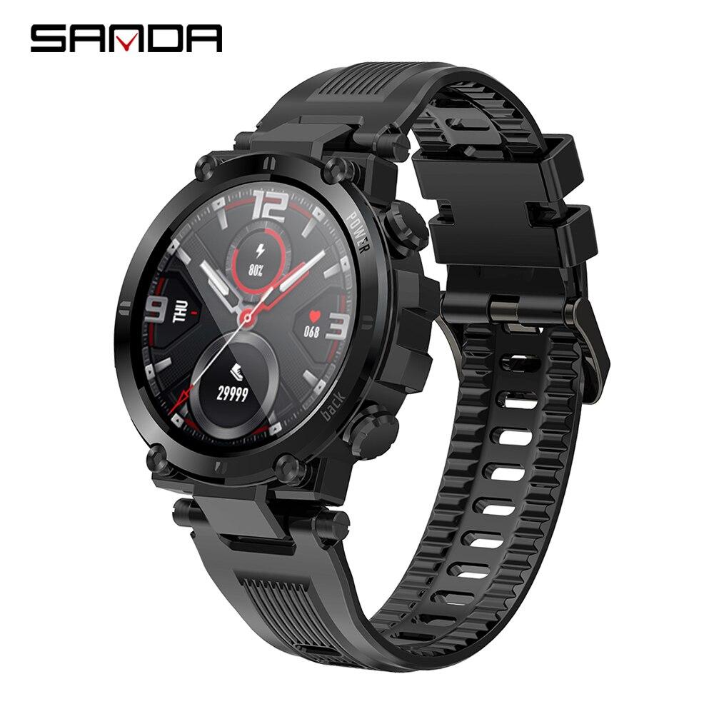 Reloj inteligente 2020 completamente táctil IP68 para hombres, impermeable, deportivo, Monitor de ritmo cardíaco, pulsera, reloj inteligente para Android e IOS