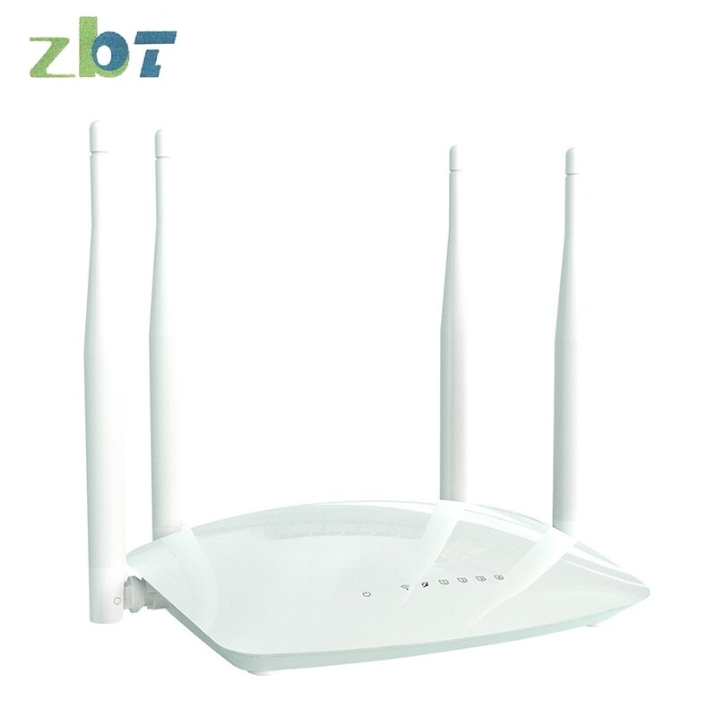 Wireless Home Commercial Router Full Netcom Intelligent WiFi Router Secondary Development  300Mbpswifi Router Wifi Extender