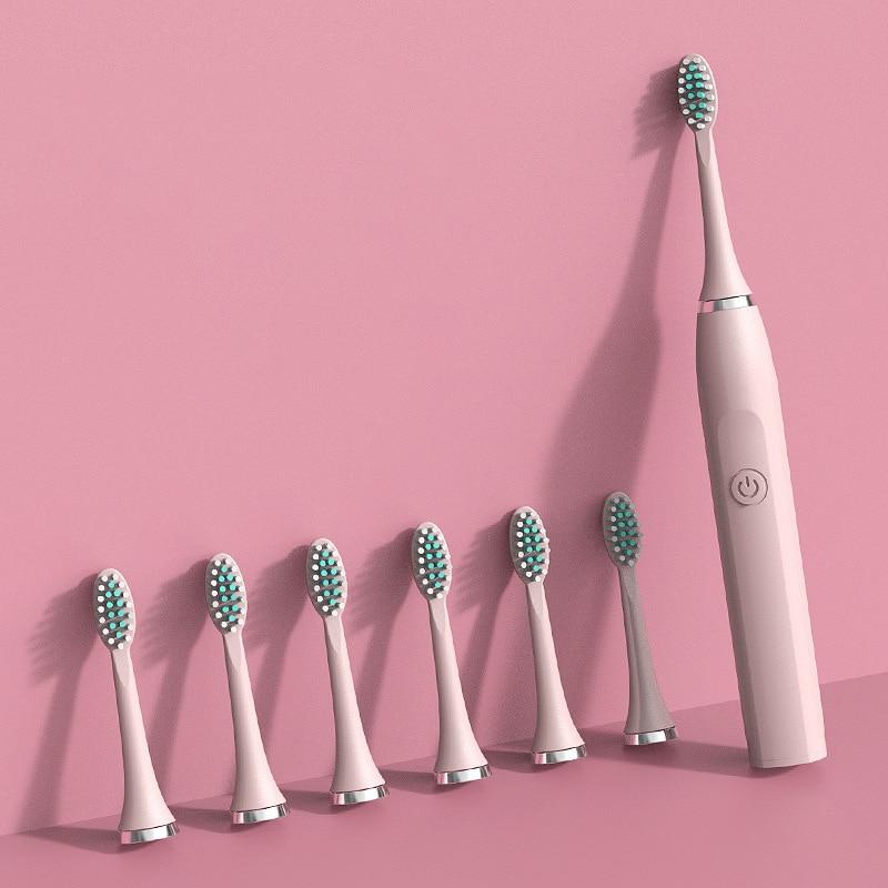 Taoye teemo Sonic Electric Toothbrush Smart Tooth Brush Ultrasonic Automatic Toothbrush USB Fast Rechargeable Adult Waterproof enlarge