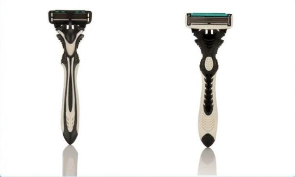 2pcs/set Best Original DORCO Shaver Pace 6-Layers Razor Blade Shaving Personal Stainless Steel Safety Razor Machine for Men