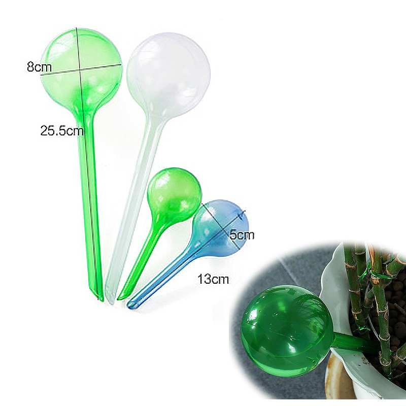 1pc House/Garden Supplies Water Houseplant Plant Pot Bulb Feeder Plastic Automatic Self Watering Device Plant Waterer