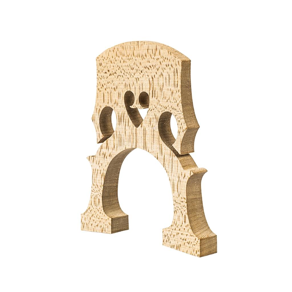 NAOMI 10pcs/1set Professional AA Grade Maple Wood Bridge 4/4 Cello Bridge French Style w/ Exquisite Workmanship enlarge